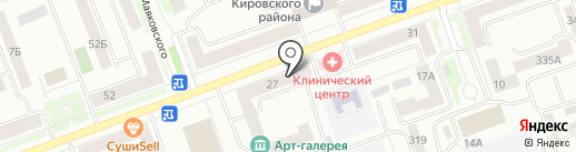 Ромашка на карте Красноярска