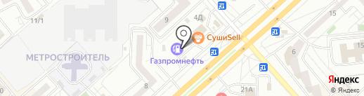 Автомотив на карте Красноярска