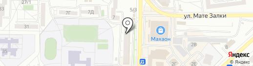 Банкомат, Восточный экспресс банк, ПАО на карте Красноярска