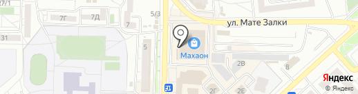 АВТО-СПВК на карте Красноярска