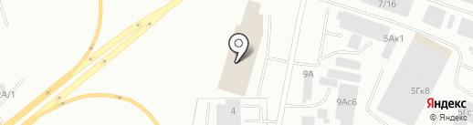 КРАСАГРОЛЕС на карте Красноярска