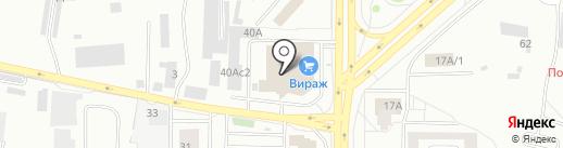 ДЕСИЗ на карте Красноярска