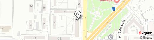 Сервисная служба на карте Красноярска