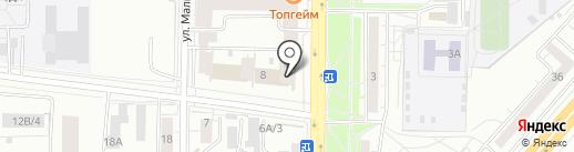 Trio Interior на карте Красноярска