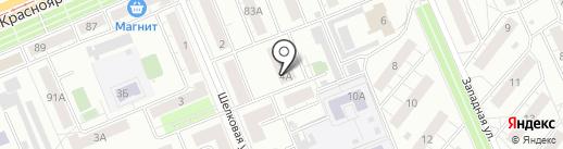 Социальная стомотология на карте Красноярска