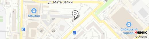 Ferrum Gym на карте Красноярска