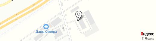 ТоргСтрой на карте Красноярска