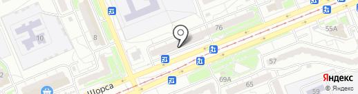 S-Service на карте Красноярска