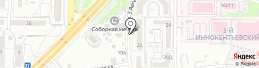 ЛОГОС на карте Красноярска
