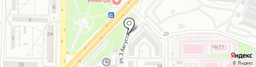 Пиvkoff на карте Красноярска