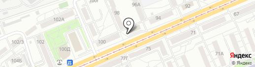 АЖУР на карте Красноярска