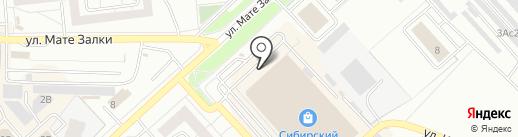 Эврика на карте Красноярска