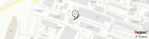 ТРС ИНВЕСТ на карте Красноярска