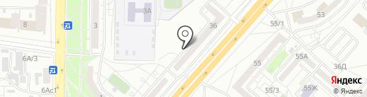 Мини-маркет на карте Красноярска