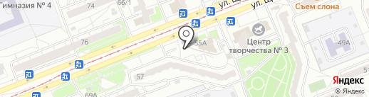 Cafe family на карте Красноярска