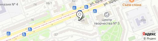 Пятница на карте Красноярска