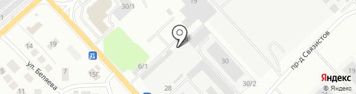 DESTOCAR на карте Красноярска