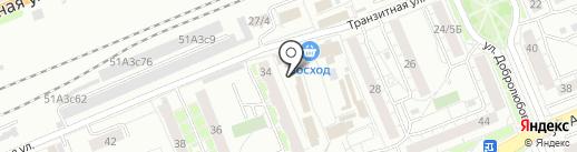 Бабушка Матрёна на карте Красноярска