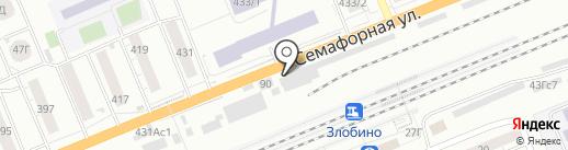 Дарк тюнинг на карте Красноярска