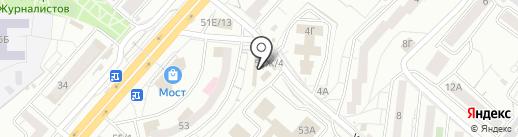 Центр бухгалтерских и юридических услуг на карте Красноярска