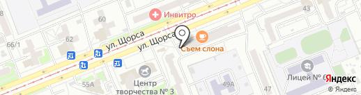 Ермак К на карте Красноярска
