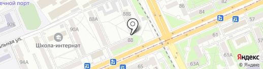 Элита на карте Красноярска