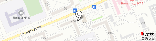 ПроВет на карте Красноярска