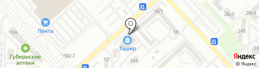Мастерская по ремонту одежды на карте Красноярска