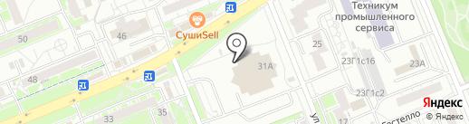 ВиноГрадъ на карте Красноярска