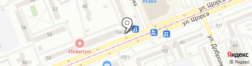 РосДеньги на карте Красноярска