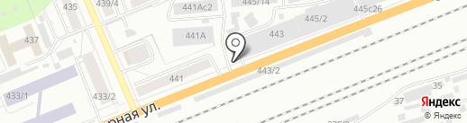 Магазин кондитерских изделий на карте Красноярска