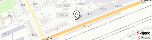 Хозмаркет на карте Красноярска