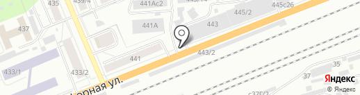 Магазин продуктов на карте Красноярска