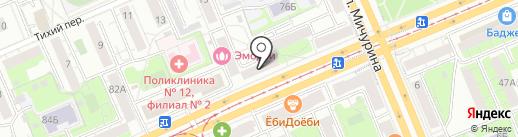 Полуфабрикаты от Зубрицкой на карте Красноярска