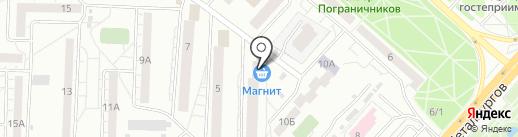 Эконом на карте Красноярска