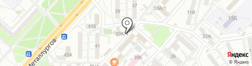 Почта Банк, ПАО на карте Красноярска
