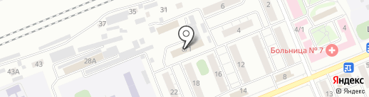 МАШУК на карте Красноярска