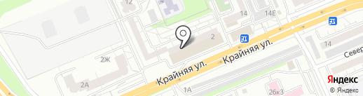 Красшарик на карте Красноярска