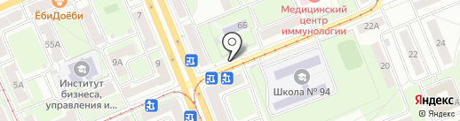 Медовая лавка на карте Красноярска