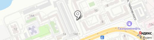 Провиант на карте Красноярска