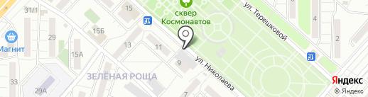 Обновка на карте Красноярска