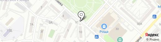 Праздник желудка на карте Красноярска