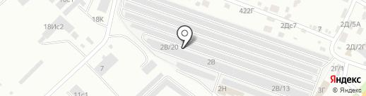 СКР24 на карте Красноярска