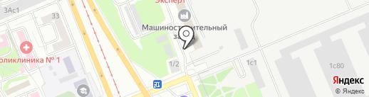 Региональный центр подготовки на карте Красноярска