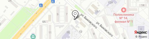 Автоарсенал на карте Красноярска