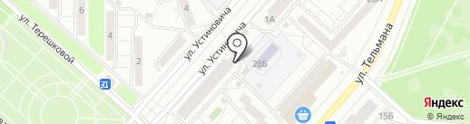 Ива+ на карте Красноярска