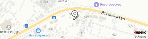 SE на карте Красноярска