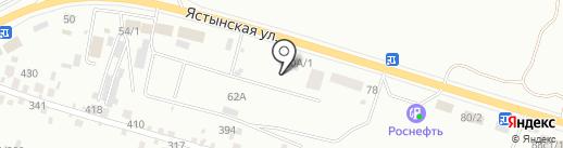 Самовар на карте Красноярска