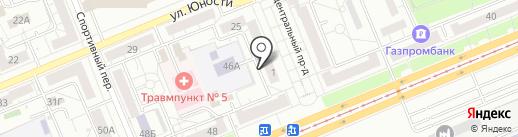 Салон-магазин пряжи для ручного, машинного вязания и товаров для рукоделия на карте Красноярска