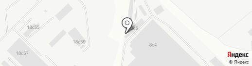 АНЖА на карте Красноярска